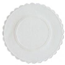 Berties White Embossed Paper Coasters