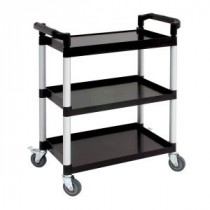 Berties Polypropylene Clearing Trolley Compact 81x41x91mm