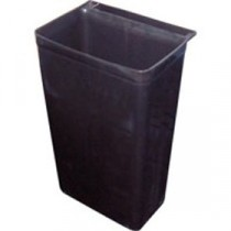 Berties Polypropylene Refuse Bin Clip on for Trolley