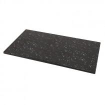 Genware Melamine Slate/Granite Reversible Platter 32x18cm GN