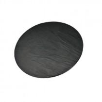 Genware Melamine Slate/Granite Reversible Round Platter 33cm