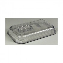 Genware Tulip Deli Lid Clear for 2.3Kg Crocks