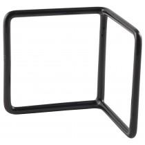 {Genware Anti-Slip Buffet Riser L-Shaped Black 10x10x10cm}