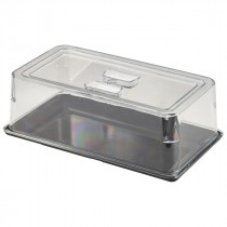 Genware Polycarbonate Buffet Platter Cover GN 1/3