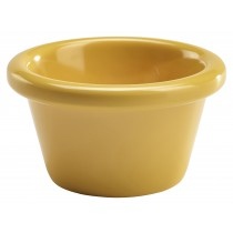 Genware Melamine Smooth Ramekin Yellow 4cl/1.5oz