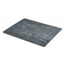 Genware Concrete Effect Melamine Platter GN 1/2