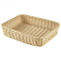 Genware Polywicker Display Basket GN 1/2