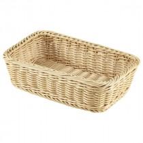 Genware Polywicker Display Basket GN 1/4