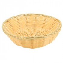 Genware Polywicker Round Basket 175mm