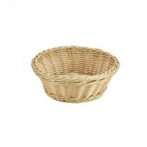 """Genware Polywicker Round Basket 8.25""""/21cm Diameter"""