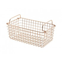 Genware Wire Basket Rectangular Copper GN 1/3