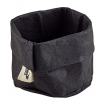Genware Washable Paper Bag Black 7cm Diameter