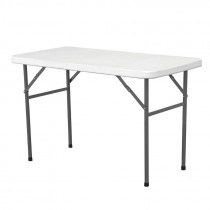 Berties Solid Top Folding Table 122x61x74cm