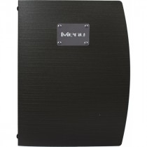 Berties Rio A4 Menu Holder Black 4 Pages