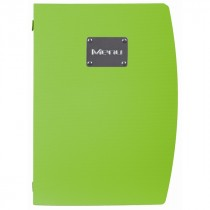Berties Rio A4 Menu Holder Green 4 Pages