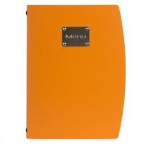 Genware Rio Menu Holder Orange A4 4-Page
