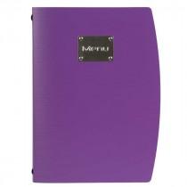 Genware Rio Menu Holder Purple A4 4-Page