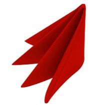 Swansoft Linen Style Red Dinner Napkin 40cm