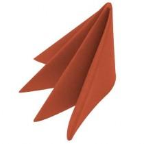 Swansoft Linen Style Terracotta Dinner Napkin 40cm