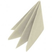 Swansoft Linen Style Cream Dinner Napkin 40cm