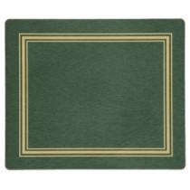 """Berties Melamine Standard Placemat Green 19x24cm/7.5x9.5"""""""