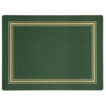 "Berties Melamine Large Placemat Green 23x28cm/9x11"""