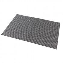 Genware Vinyl Placemat Silver Design 45x30cm