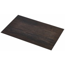 {Genware Placemat Dark Wood Effect 45x30cm}