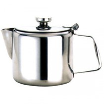 Genware Stainless Steel Teapot 600ml