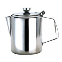 Genware Stainless Steel Coffee Pot 600ml