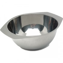 Genware Stainless Steel Soup Bowl 110mm Diameter 34cl/12oz