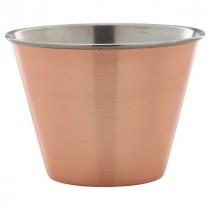 Genware Copper Plated Ramekin 34cl/12oz