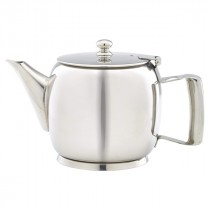 Genware Stainless Steel Premier Teapot 60cl