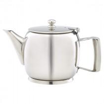 Genware Stainless Steel Premier Teapot 60cl