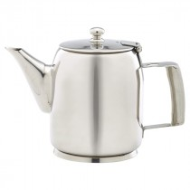 Genware Stainless Steel Premier Coffee Pot 60cl