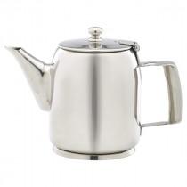 Genware Stainless Steel Premier Coffee Pot 60cl
