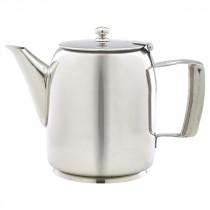 Genware Stainless Steel Premier Coffee Pot 100cl