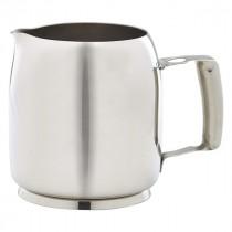 Genware Stainless Steel Premier Milk Jug 35cl