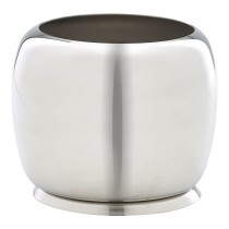 Genware Stainless Steel Premier Sugar Bowl 25cl/8oz
