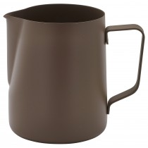 Genware Non-Stick Milk Jug Brown 340ml/12oz