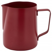 Genware Non-Stick Milk Jug Red 340ml/12oz