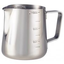 {Genware Stainless Steel Milk Jug 12oz}