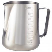 {Genware Stainless Steel Milk Jug 32oz}