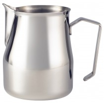 Genware Stainless Steel Premium Milk Jug 50cl/16oz