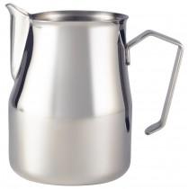Genware Stainless Steel Premium Milk Jug 75cl/24oz