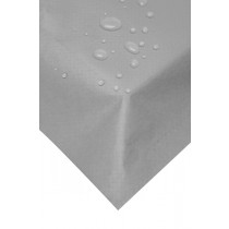 Swantex Silver Wipeable Banquet Roll 120cmx40m