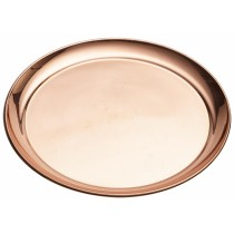 {Genware Copper Round Tray 300mm}
