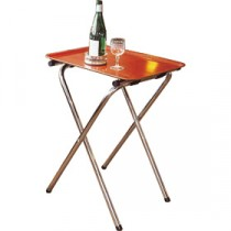 Genware Stainless Steel Tray Stand 45.7x79cm