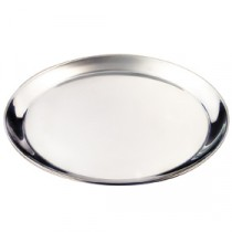 Genware Stainless Steel Round Tray 350mm