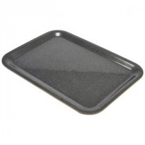 Genware Laminated Wood Veneer Tray Dark Granite 460x340mm